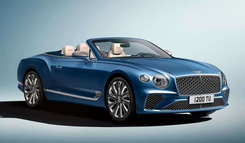 Кабриолет Bentley Continental GT Mulliner Convertible