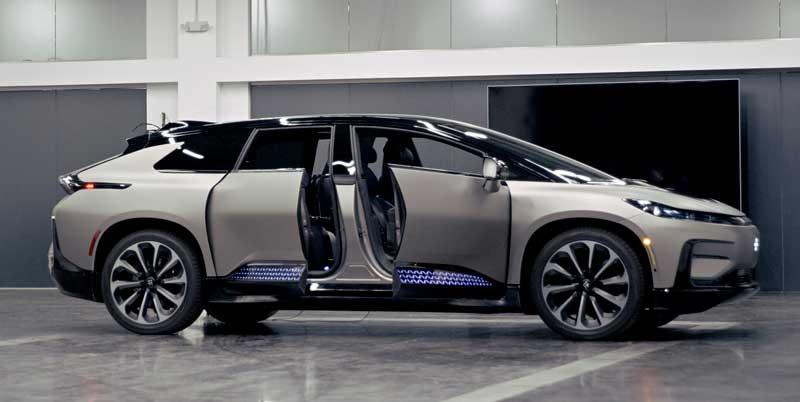 Электрический кроссовер Faraday Future 91 2020