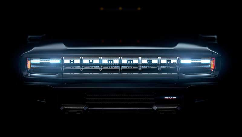 Электрический пикап GMC Hummer EV 2021