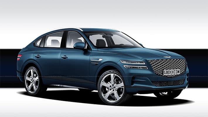 Купе-кроссовер Genesis GV80 Coupe 2020