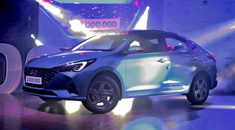 Обновленный седан Hyundai Solaris 2020