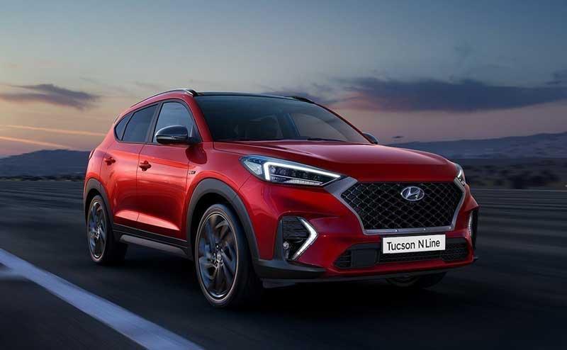 Кроссовер Hyundai Tucson N Line с ценой для России
