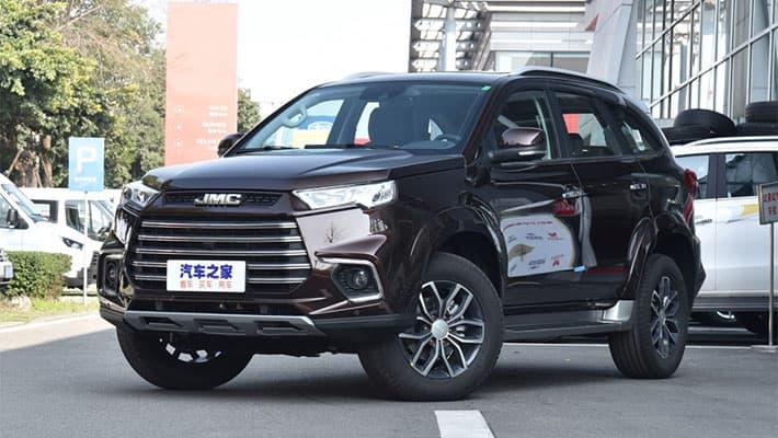 Рамный внедорожник JMC Yusheng S350 2020-2021