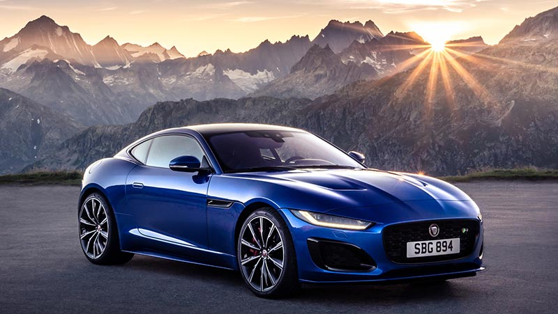 Купе Jaguar F-type 2020