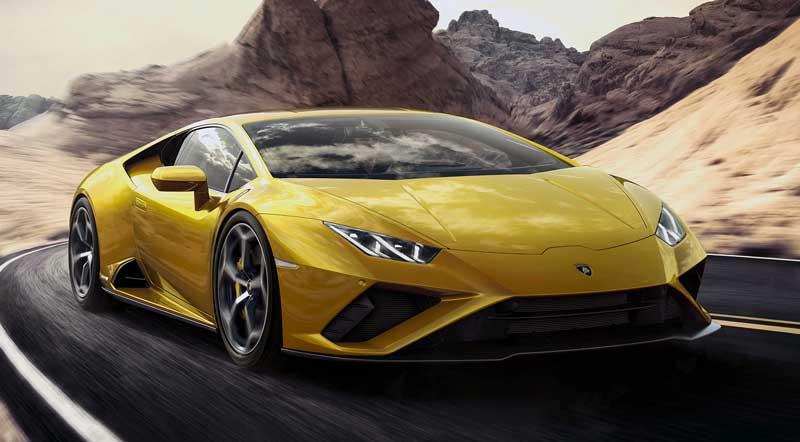 Обновленное купе Lamborghini Huracan Evo RWD 2020