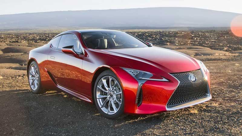 Обновленное купе Lexus LC 2020-2021