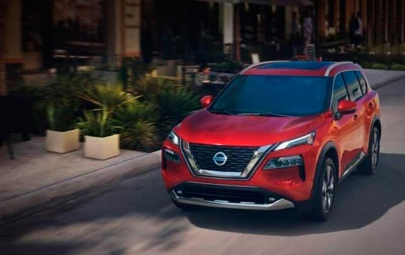 Кроссовер Nissan X-Trail 2021 нового поколения