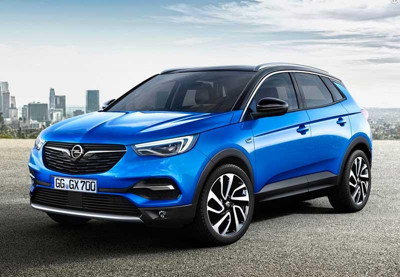 Компактный кроссовер Opel Grandland X 2020