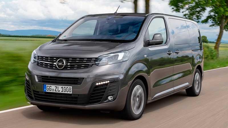 Минивэн Opel Zafira Life