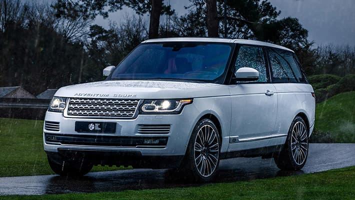 трехдверный купе-внедорожник Range Rover Adventum Coupe