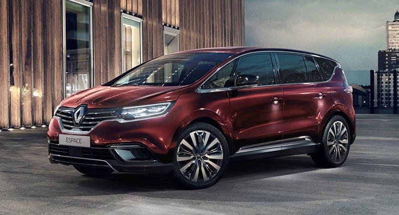 Обновленный минивэн Renault Espace 2020