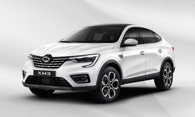 Паркетник Renault Samsung XM3 2020-2021