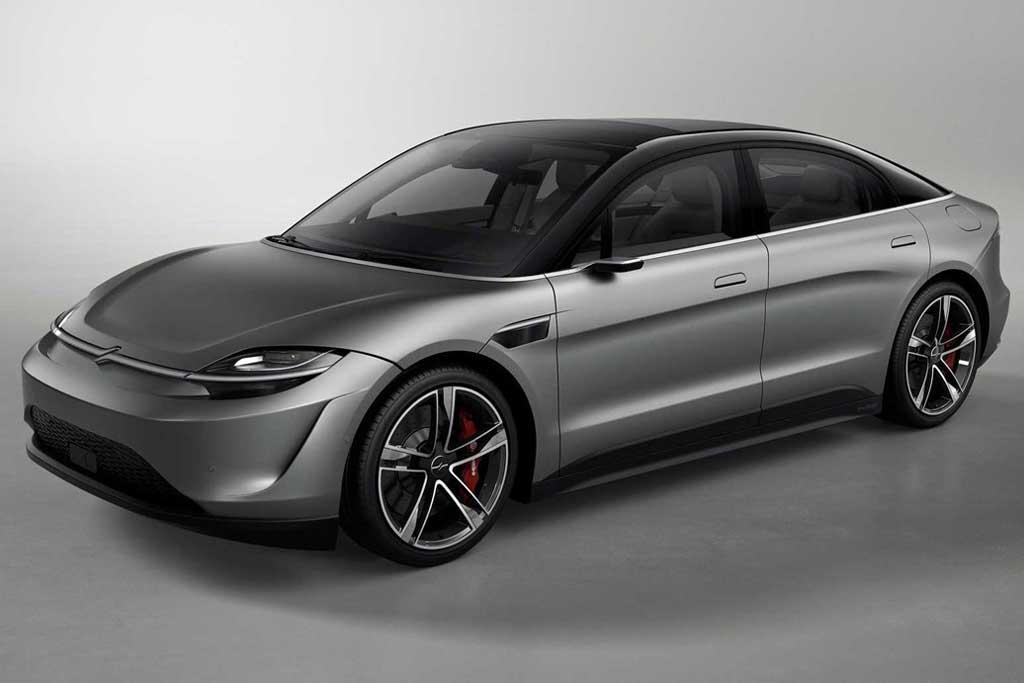 Электрический седан Sony Vision-S Concept 2020