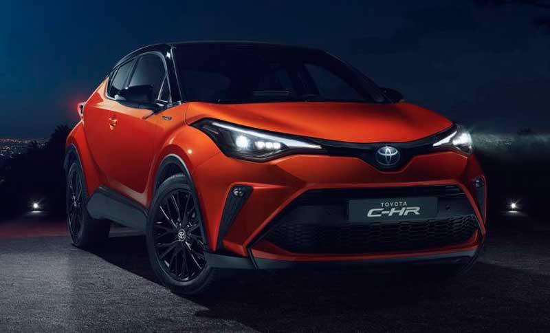 Кроссовер Toyota C-HR 2020 с ценой и комплектациями для России