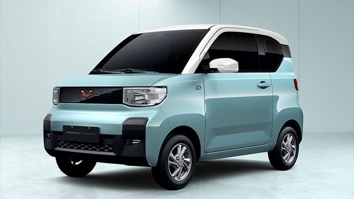 Электромобиль Wuling E50 2020 с 4-местным салоном
