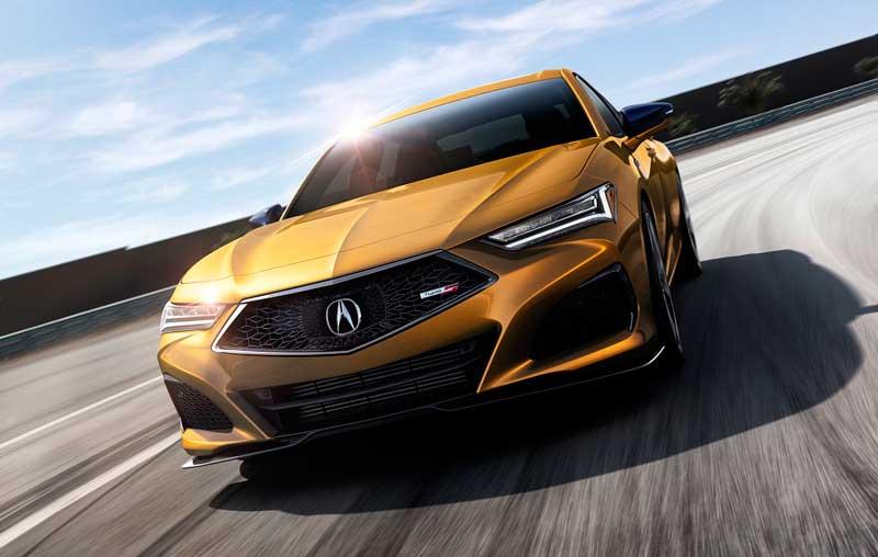 Седан Acura TLX 2020-2021 нового поколения