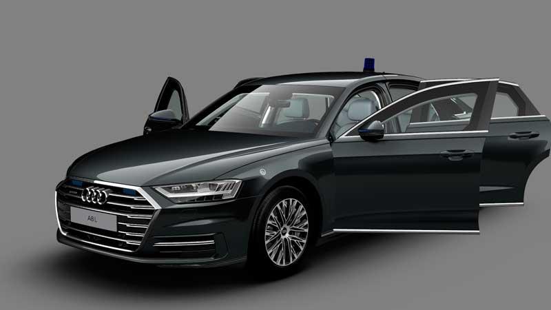 Бронированный седан Audi A8 L Security
