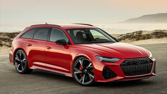 Спортивный универсал Audi RS6 Avant 2020-2021