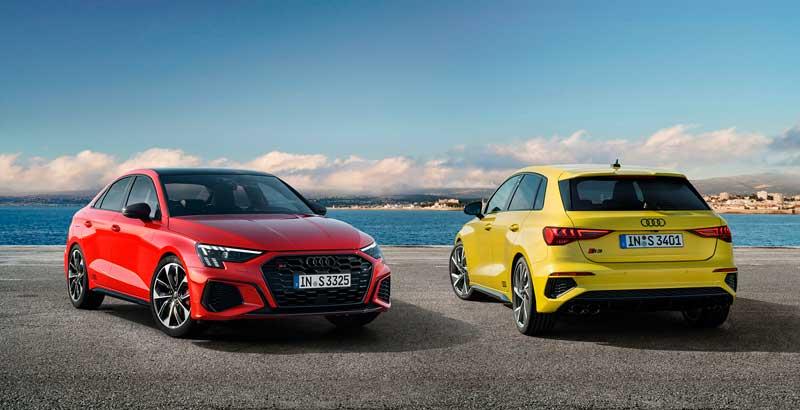 Седан и хэтчбек Audi S3 2020-2021