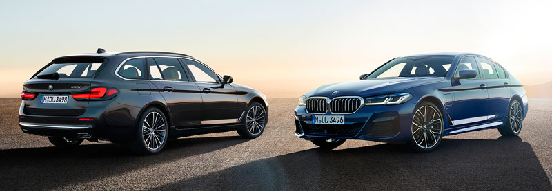 Обновленные седан и универсал BMW 5-Series 2020-2021