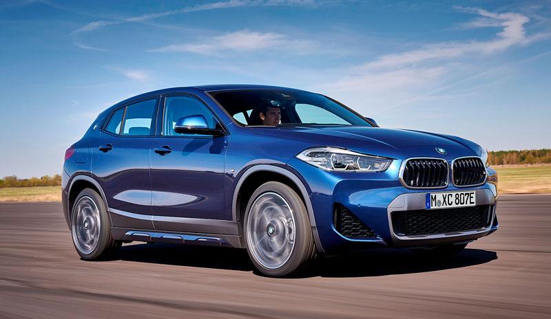 BMW X2 2020-2021 - обновленный гибридный кроссовер