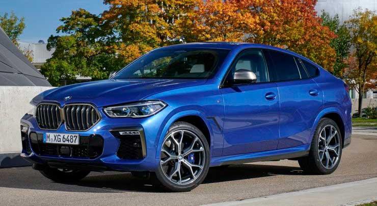 Кроссовер BMW X6 G06 российской сборки
