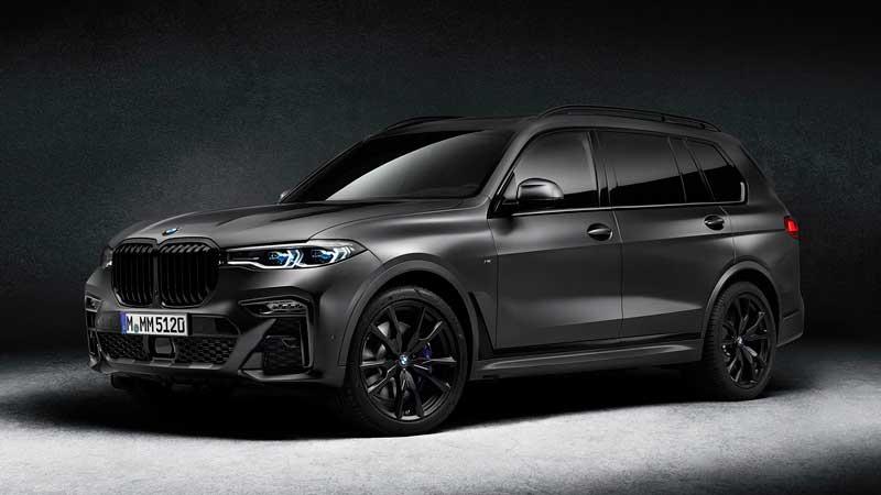 Кроссовер BMW X7 Dark Shadow 2021