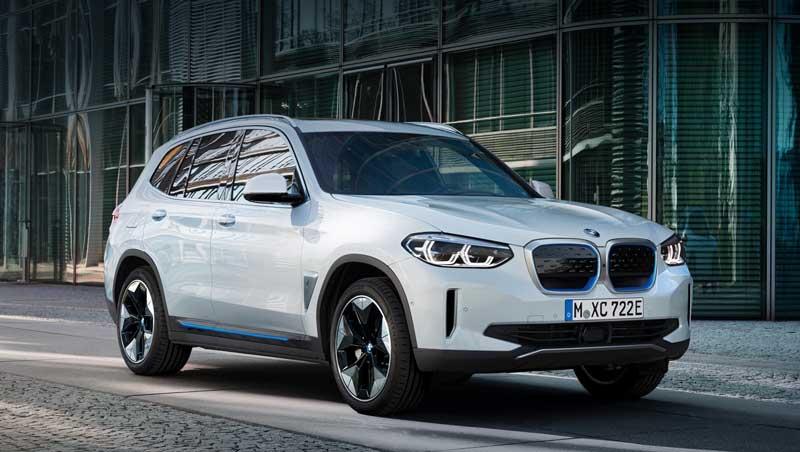 Электрический кроссовер BMW iX3 2021