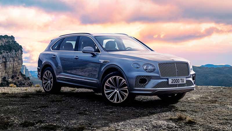 Обновленный кроссовер Bentley Bentayga 2020-2021
