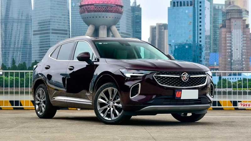 Среднеразмерный кроссовер Buick Envision 2020-2021