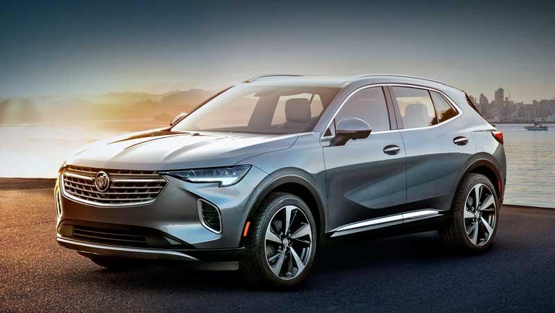Кроссовер Buick Envision 2020-2021 нового поколения