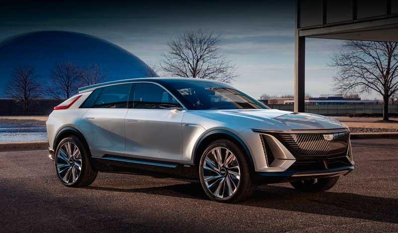 Электрический кроссовер Cadillac Lyriq 2022-2023