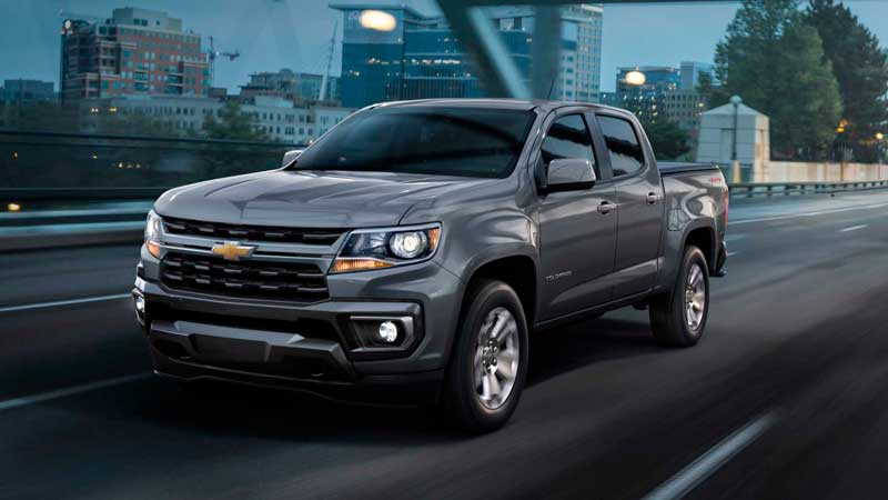Пикап Chevrolet Colorado 2020-2021