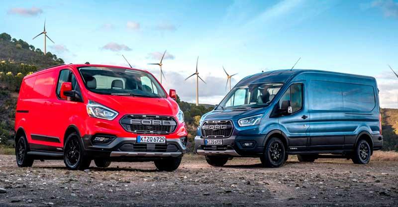 Вэны Ford Transit и Tourneo 2020-2021