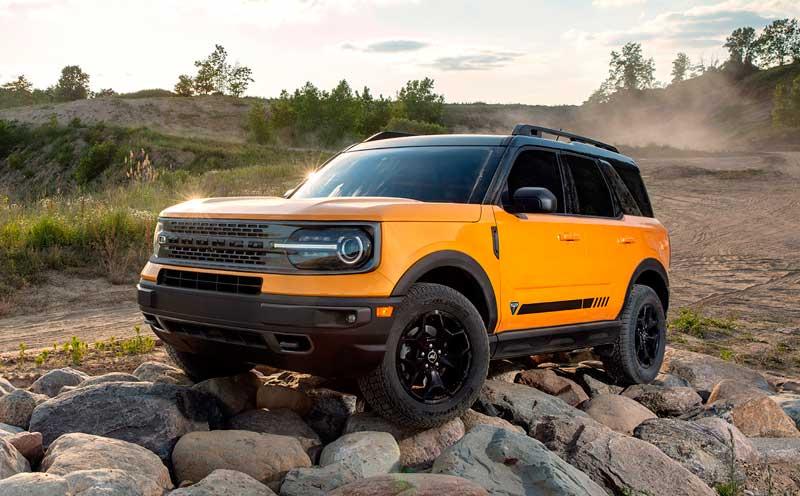 Кроссовер Ford Bronco Sport 2021