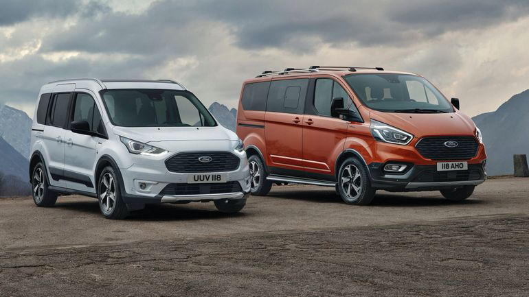 Ford Connect Tourneo и Transit Connect Active 2020-2021