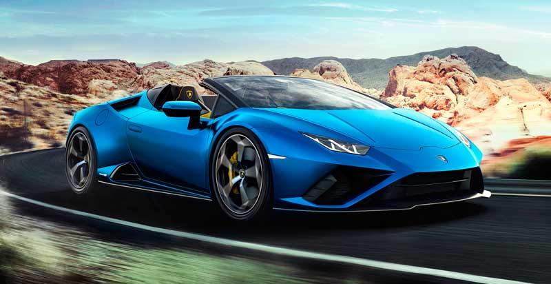 Обновленный Lamborghini Huracan Evo RWD 2020