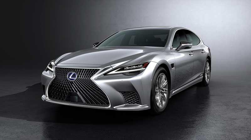 Седан Lexus LS 2020-2021