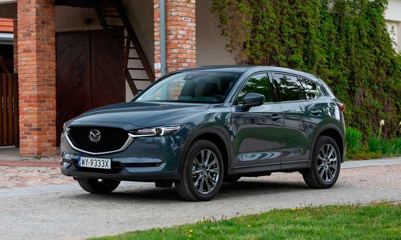 Кроссовер Mazda CX-5 2020-2021