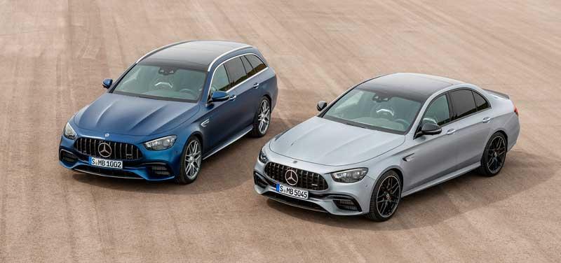 Обновленные седан и универсал Mercedes-AMG E 63 2020