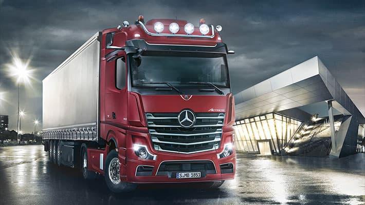 Магистральный тягач Mercedes-Benz Actros