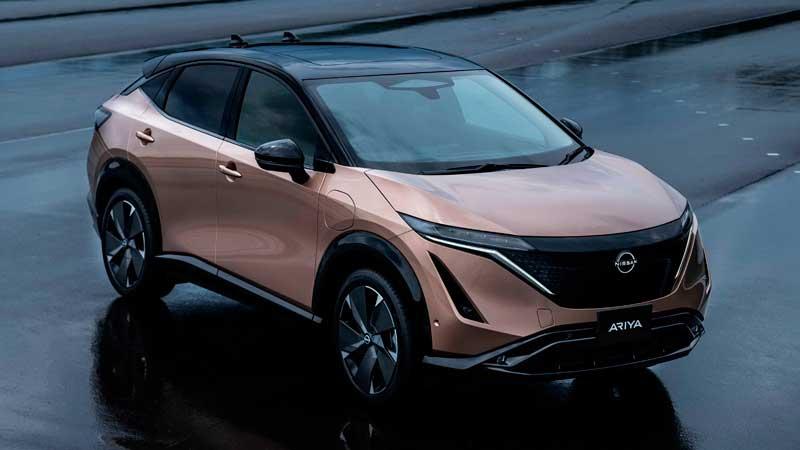 Электрический кроссовер Nissan Ariya 2021
