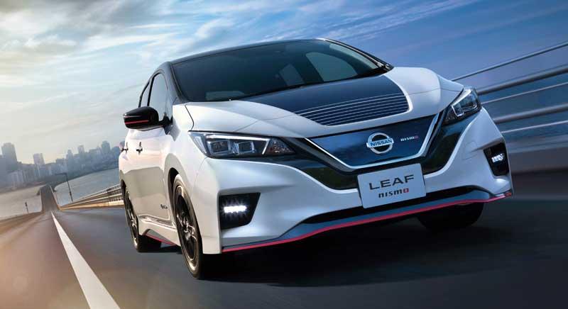 Электрический хэтчбек Nissan Leaf Nismo 2020