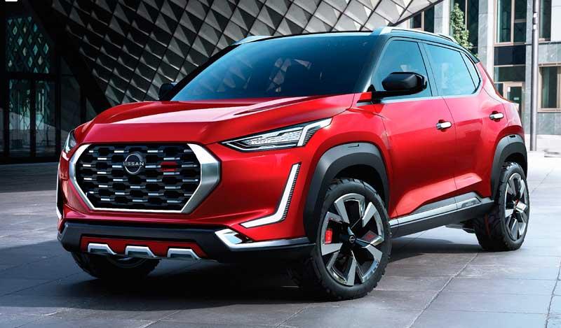 Паркетник Nissan Magnite Concept 2021