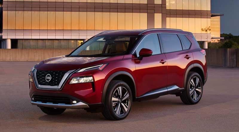 Кроссовер Nissan Rogue 2020-2021 нового поколения