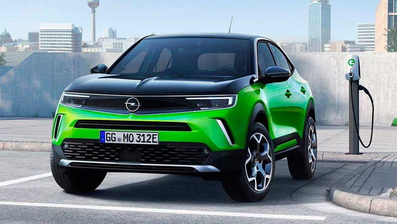 электрический кроссовер Opel Mokka-e 2020-2021