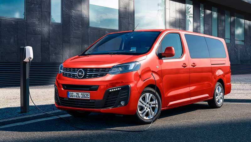 Вэн Opel Zafira-e Life 2020-2021