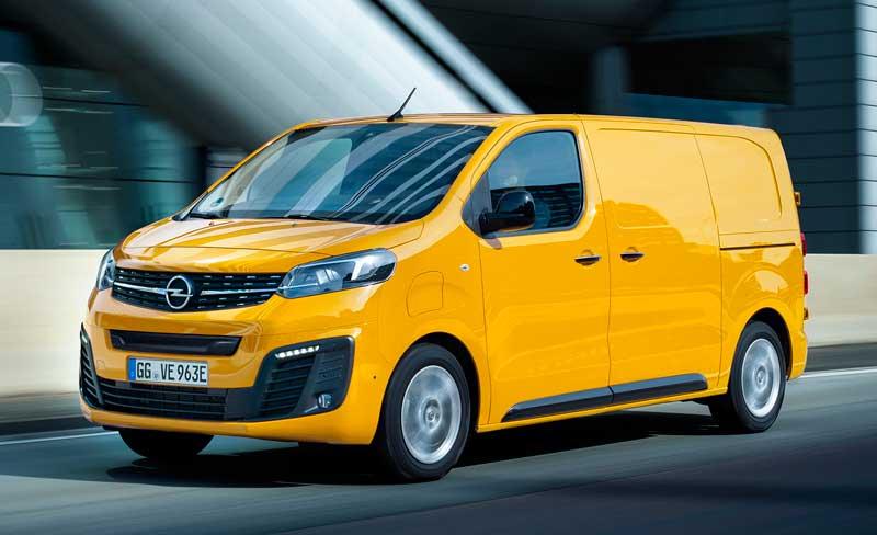 Электрический фургон Opel Vivaro-e 2020