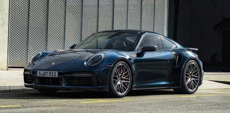 Купе Porsche 911 Turbo серия 992