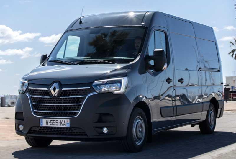 Коммерческий фургон Renault Master 2020
